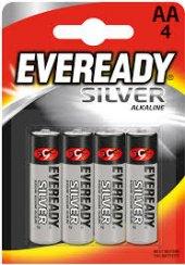 Baterie alkalické Silver Eveready