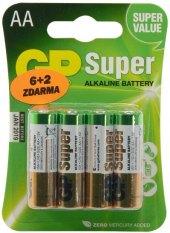 Baterie alkalické super GP