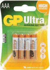 Baterie alkalické Ultra GP
