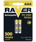 Baterie do solárních lamp Raver