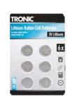 Baterie knoflíkové Tronic