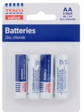 Baterie Tesco Value
