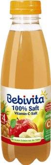 Šťáva100%ovocnádětská Bebivita