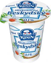 Bílý jogurt Beskydský nízkotučný Kunín