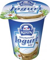 Bílý jogurt smetanový Kunín