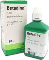 Dezinfekce Betadine
