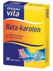 Doplněk stravy Beta-karoten MaxiVita