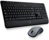 Bezdrátová klávesnice a myš Logitech Wireless Combo MK520