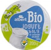 Bílý jogurt Bio Albert