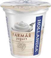 Bílý jogurt Farmář Hollandia