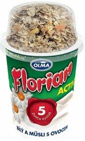 Bílý jogurt Florian Active Olma