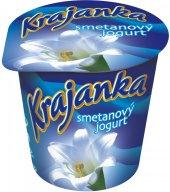 Bílý jogurt smetanový Krajanka