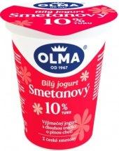 Bílý jogurt smetanový Olma