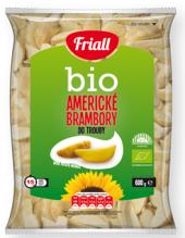 Americké brambory bio mražené Friall