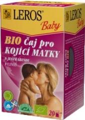 Čaj pro kojící matky bio Baby Leros