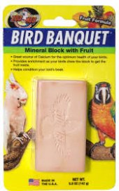 Doplněk stravy pro ptáky minerální blok Zoomed