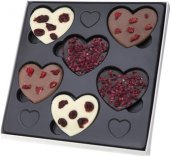 Bonboniéra Čokoládová srdíčka