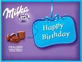 Bonboniéra Happy Birthday Milka