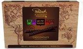 Bonboniéra Kolekce 4 druhů čokolád Rausch - dřevěná krabice