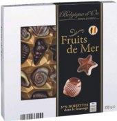 Bonboniéra Mořské plody Premium Belgique d'Or Exclusive