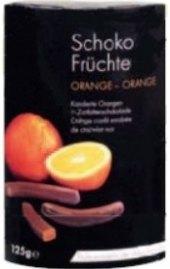 Bonboniéra Pomeranče v čokoládě Schoko Früchte