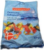 Bonbony želé lékořicové žvýkací Sodergärden