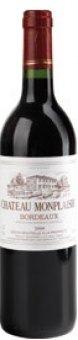 Víno červené Bordeaux A.O.C. Chateau Monplaisir rouge