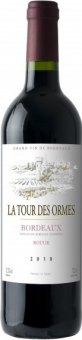 Vína Bordeaux La Tour Des Ormes