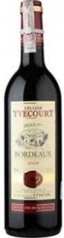 Víno červené Bordeaux Yvecourt