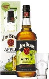 Bourbon Apple Jim Beam - dárkové balení