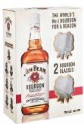 Bourbon Jim Beam - dárkové balení