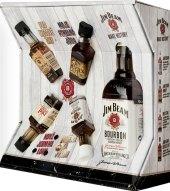 Bourbon White Jim Beam - dárkové balení