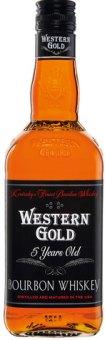 Bourbon Whisky 5 YO Western Gold