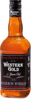Bourbon Whisky 6 YO Western Gold