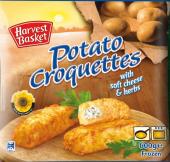 Krokety bramborové plněné mražené Harvest Basket