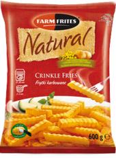 Hranolky vlnky mražené Natural Farm Frites