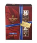 Brandy 10 YO Ararat - dárkové balení