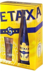 Brandy  5* Metaxa - dárkové balení