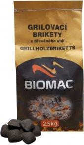 Brikety grilovací dřevěné Biomac