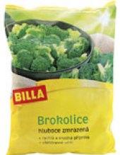 Brokolice mražená Billa