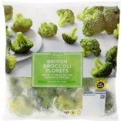 Brokolice mražená Marks & Spencer