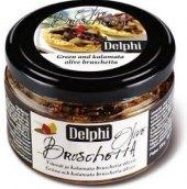 Bruschetta sekané olivy Delphi