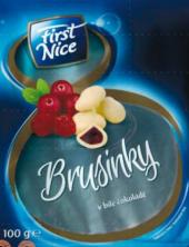 Brusinky v čokoládě First Nice