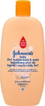 Bublinková koupel a mycí gel dětský Johnson's Baby