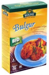 Bulgur s červenou čočkou Bioline