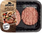 Burger s jehněčím masem Rozpal to šéfe Albert