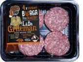 Burger vepřový pro skautíky Láďa Grileman Kostelecké uzeniny