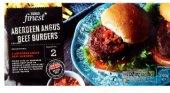 Burger z hovězího masa mražený Aberdeen Angus Tesco Finest