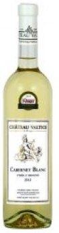Víno Cabernet Blanc Chateau Valtice - výběr z hroznů