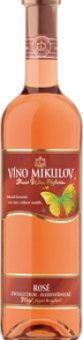 Víno Cabernet Sauvignon Rosé Mikulov
